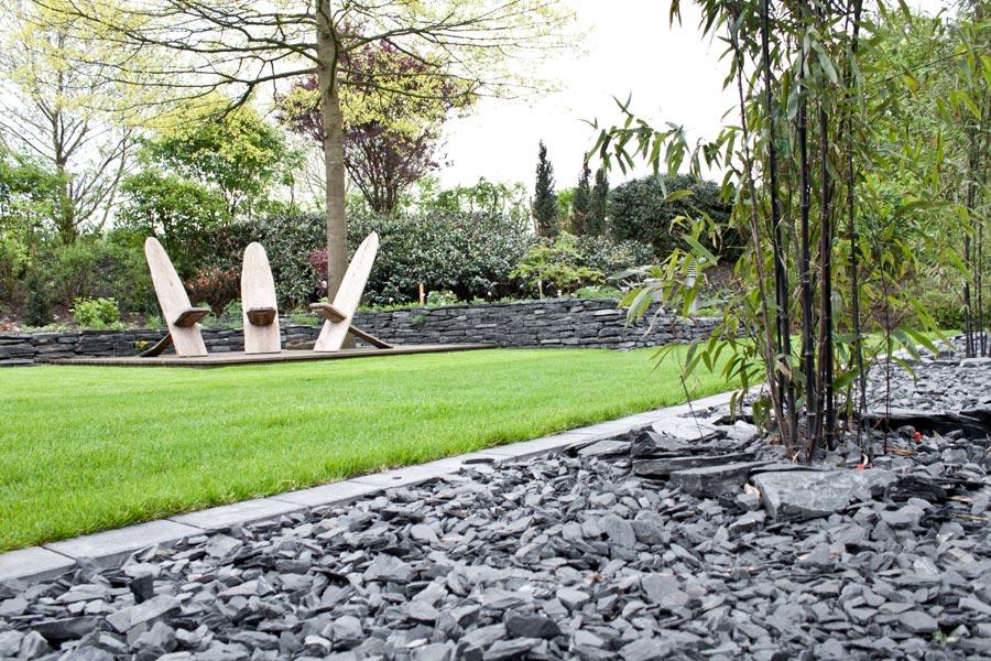 schieferchips n hmer beton kies splitt steinkorb. Black Bedroom Furniture Sets. Home Design Ideas