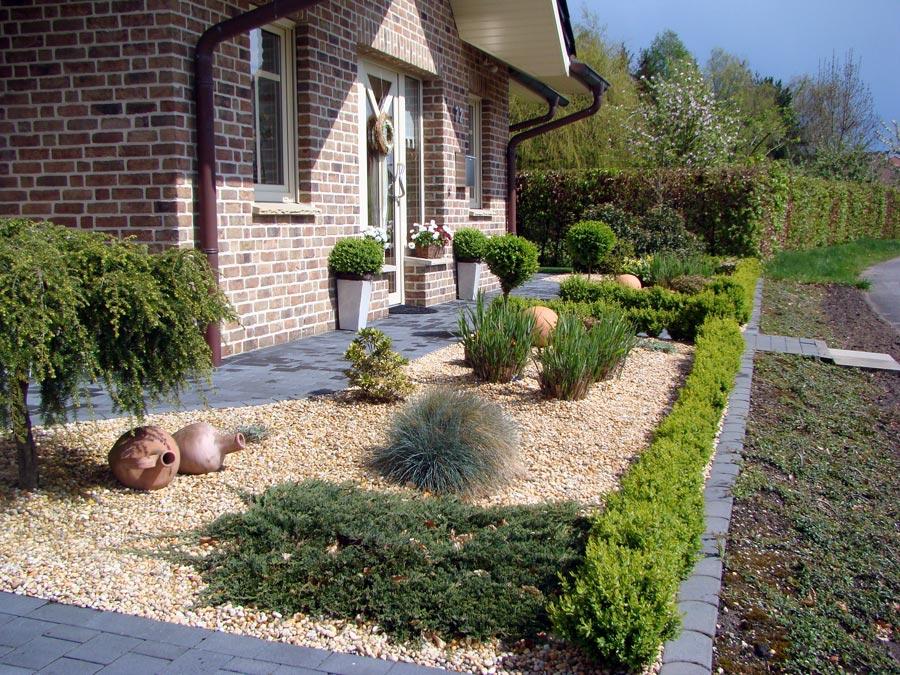 Zierkies varianten n hmer beton kies splitt steinkorb - Gartengestaltung mit splitt ...