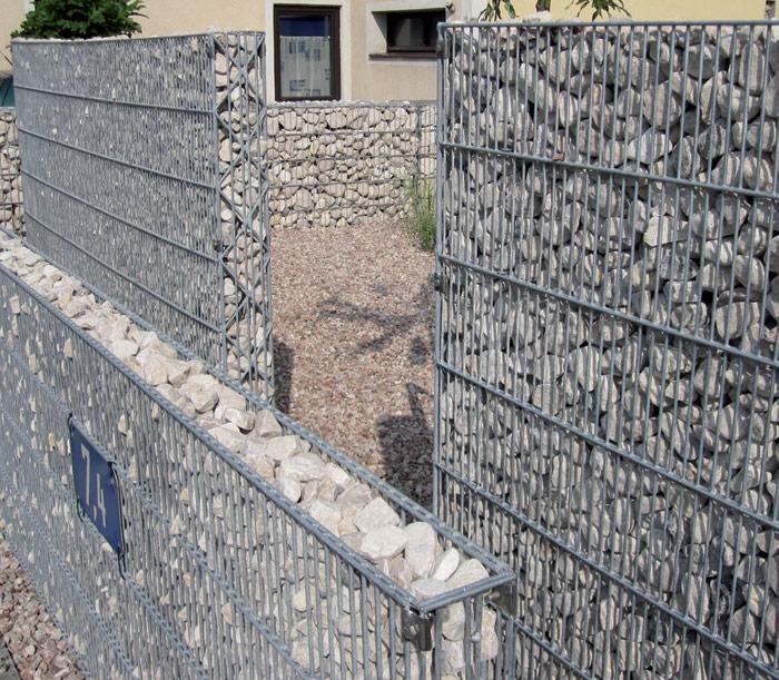 kieszaun 16 cm n hmer beton kies splitt steinkorb. Black Bedroom Furniture Sets. Home Design Ideas