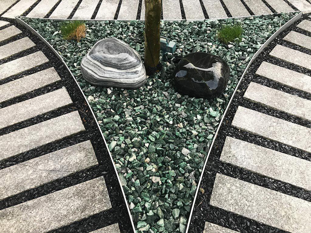 Gartengestaltung Mit Splitt Kies Nöhmer Beton Kies Splitt